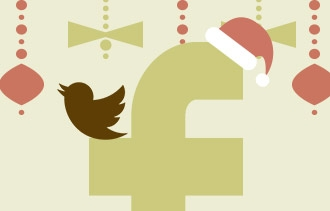 Merry Christmas: Time to Snuggle Up with Facebook, Twitter
