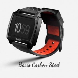 Top Wearable Fitness Devices - Basis Carbon Steel